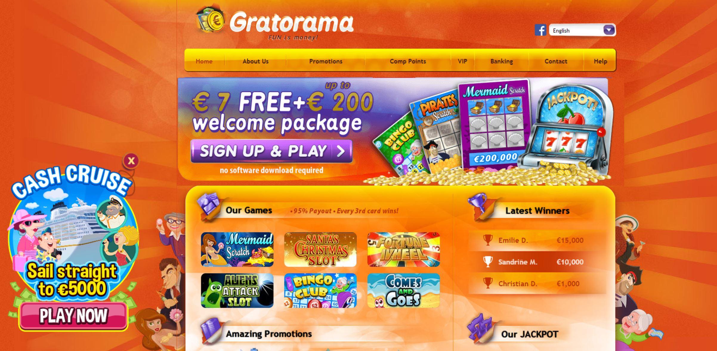 Gratorama casino, un avis pour mettre en lumière la fiabilité de cette plateforme